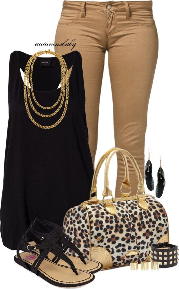 """Walk on the Wild Side"" by autumnsbaby on Polyvore @Heather Creswell Creswell Creswell Warren the purse!"