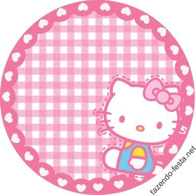 Hello Kitty Lindo Mini Kit para Imprimir Gratis.