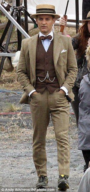 Great Gatsby costuming #fashion #menswear #style