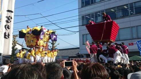 Japan festival 祭り 愛媛県 新居浜 太鼓祭り 喧嘩