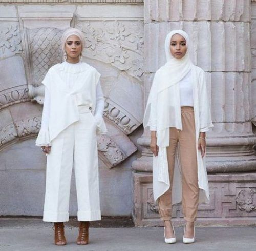 neutral hijab looks- Hijab fashion inspiration http://www.justtrendygirls.com/hijab-fashion-inspiration/