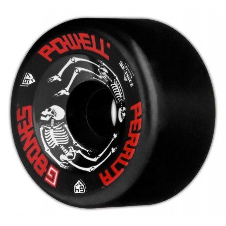 Powell Peralta Skateboards - Powell Peralta G Bones Black 64MM 97A Skateboard Wheels
