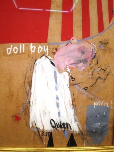 David Hockney, Doll Boy (1960-61) on ArtStack #david-hockney #art