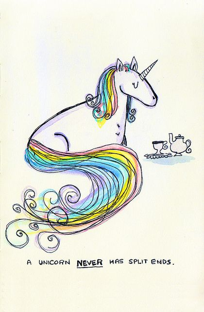 You may have princess hair but do you have unicorn hair?