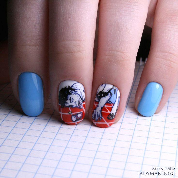 #geeknails #ladymarengo #шеллак #гельлак #нейларт #ногти #маникюр #дизайнногтей #nailart #naildesign #HopeGangloff