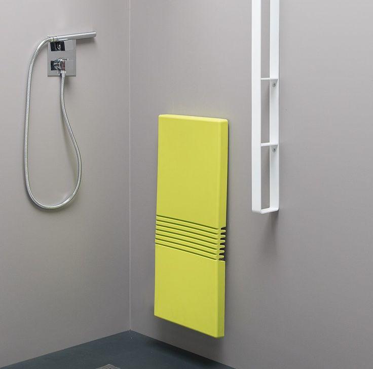 Sedile doccia in poliuretano TUCK-TYPE Collezione Tuck by EVER by Thermomat Saniline | design Gianni Arduini, Marco Frigerio