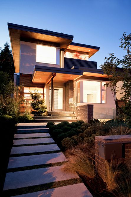 Local Vancouver Architectural Design by Frits de Vries Architect.