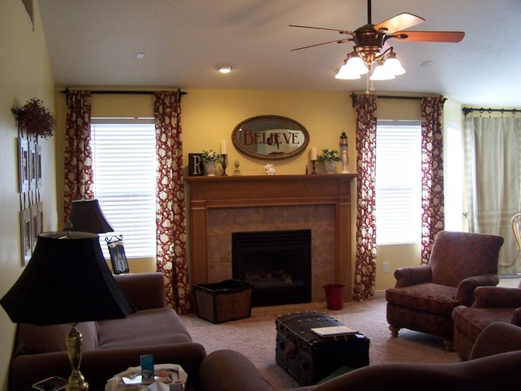 Family Room Curtains