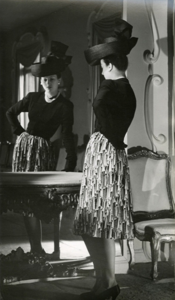 A wonderful look from Balenciaga, 1943. #vintage #1940s #fashion #hats
