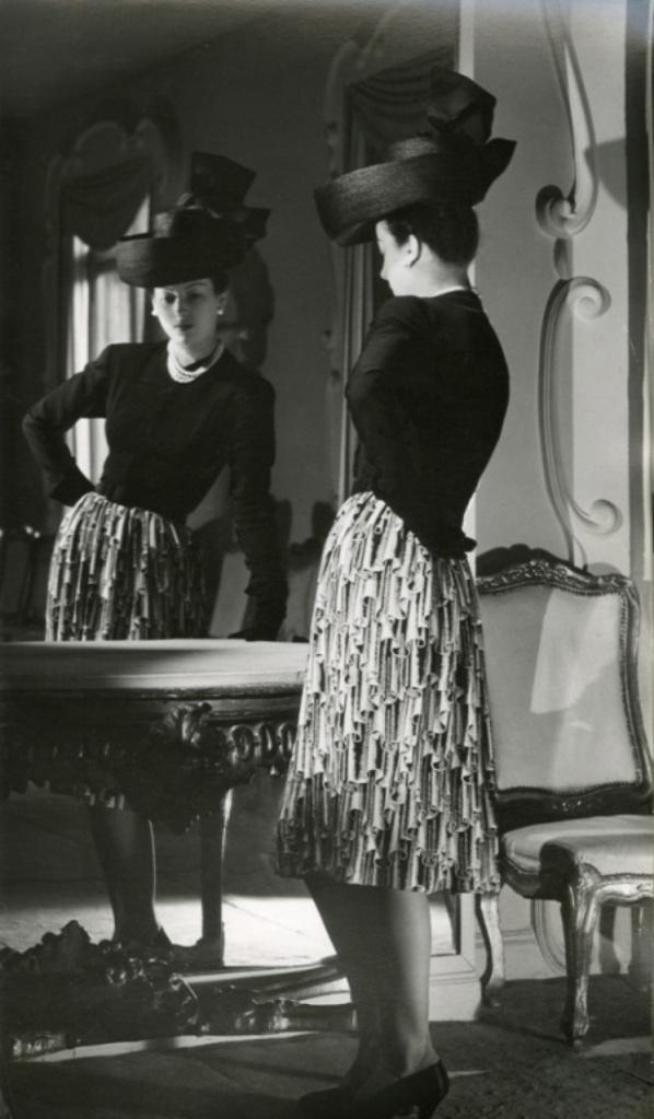A wonderful look from Balenciaga, 1943. #vintage #1940s #fashion #hats