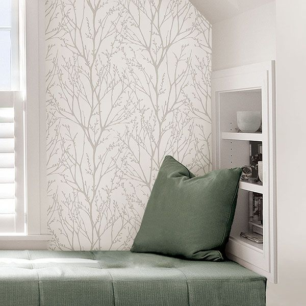 NU2394 Treetops  Peel and Stick Wallpaper by NuWallpaper