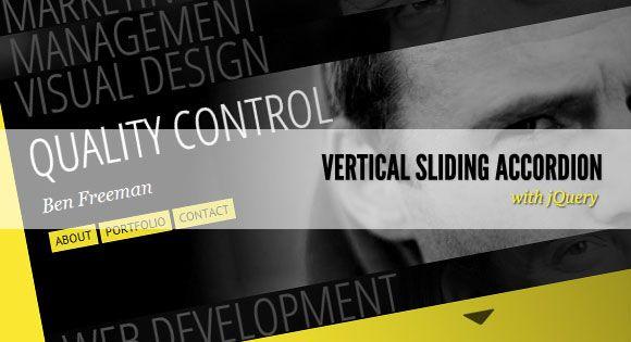 Vertical Sliding Accordion. http://tympanus.net/codrops/2011/07/22/vertical-sliding-accordion/