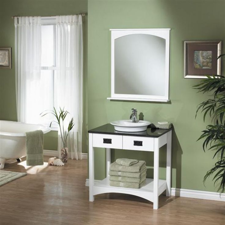 white country style vanities for bathroom