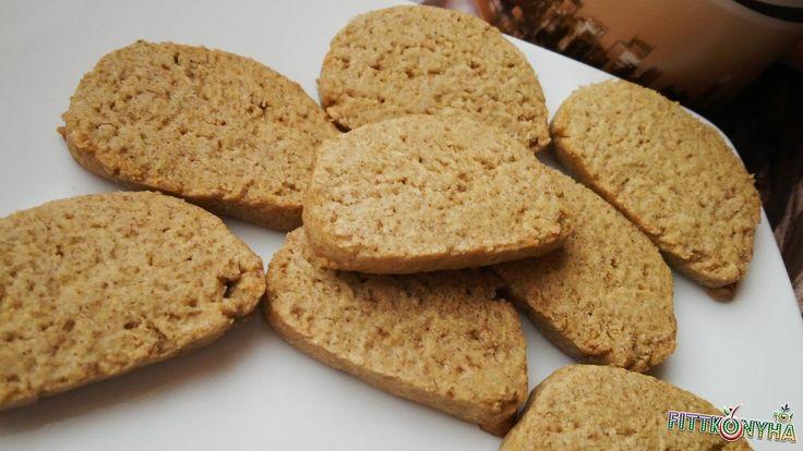 Fahéjas zabos keksz
