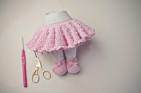 Tığ İşi Bebek Eteği Yapımı , #amigurumielbiseyapımı #amigurumikıyafet …