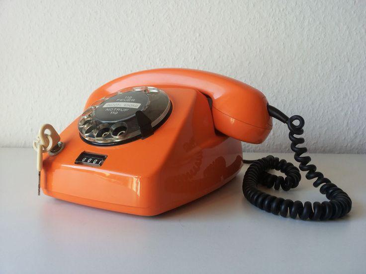 Altes Siemens Telefon, aus den 70er