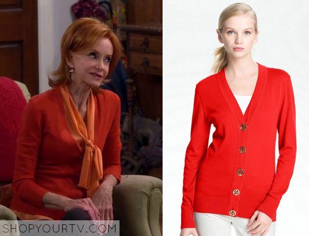 Mike & Molly: Season 5 Episode 1 Joyce's Orange Cardigan