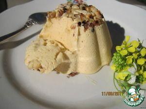 Пряное тыквенное мороженое с медом