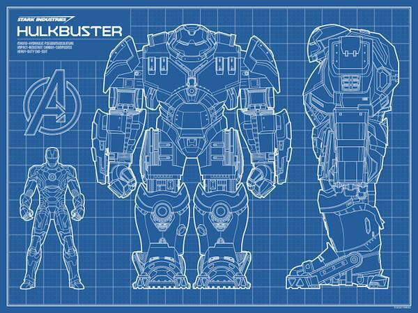 iron man hulkbuster blueprint | iron man | pinterest ... #11
