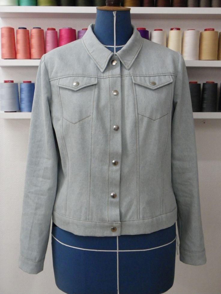 patron couture veste d interieur femme les vestes la mode sont populaires partout dans le monde. Black Bedroom Furniture Sets. Home Design Ideas