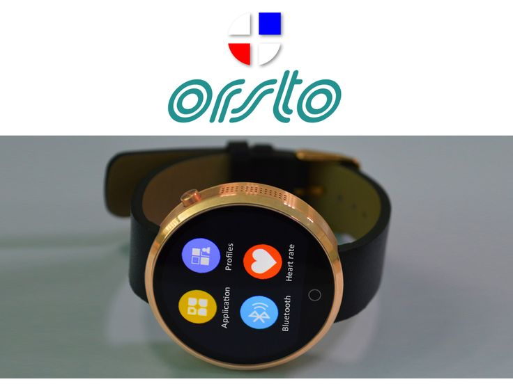 ORSTO Q2 The 'uber smart' round smartwatch for Android & iOS project video thumbnail