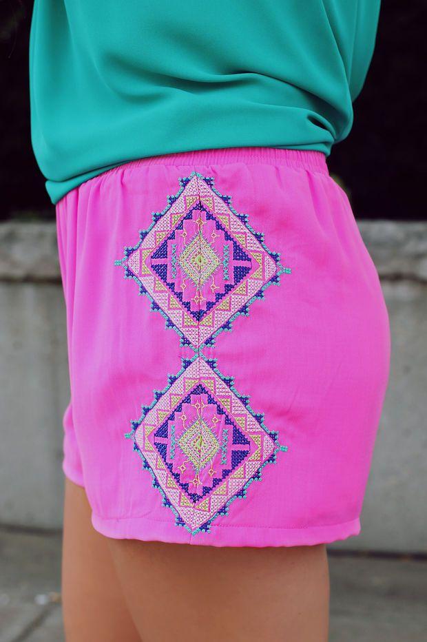 West Coast Shorts - Magenta