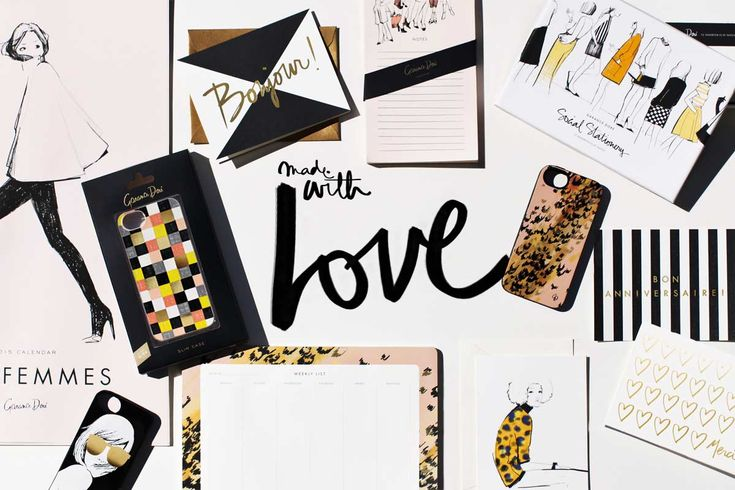 Stationery collection / Garance Doré #stationery #garancedore