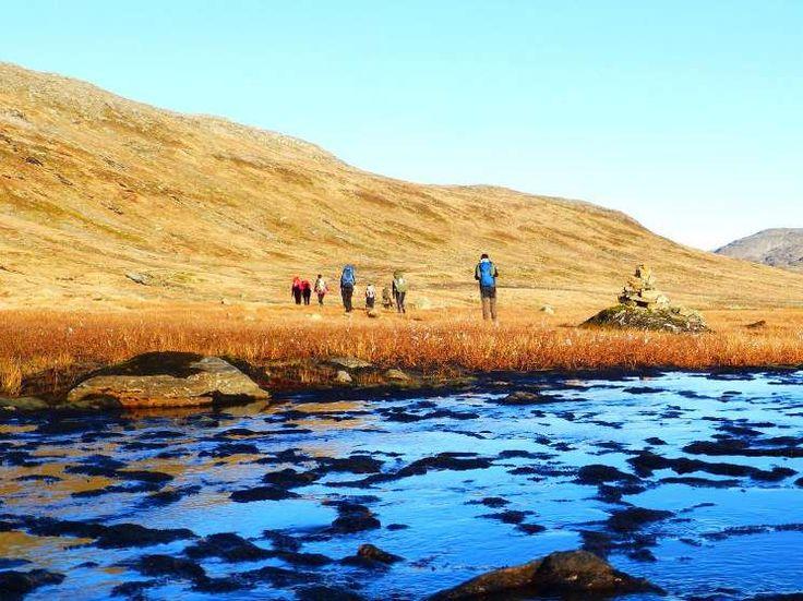 Wandern in Norwegen - Wanderung zwischen den Fjorden