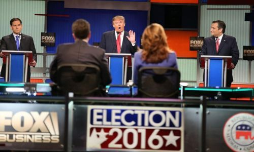 The third Republican debate hosted by Fox News is set for March 3rd... FEB 5 2016