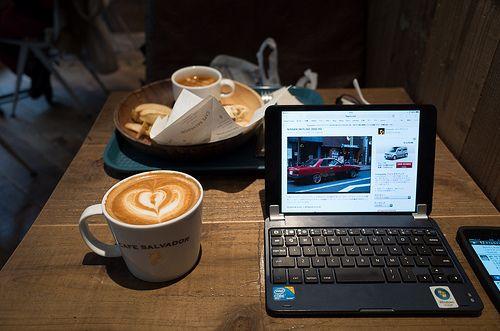 CAFE SALVADOR / RICOH GR