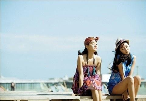 Summer ♥ Shin Min Ah and Gong Hyo Jin 신민아 공효진
