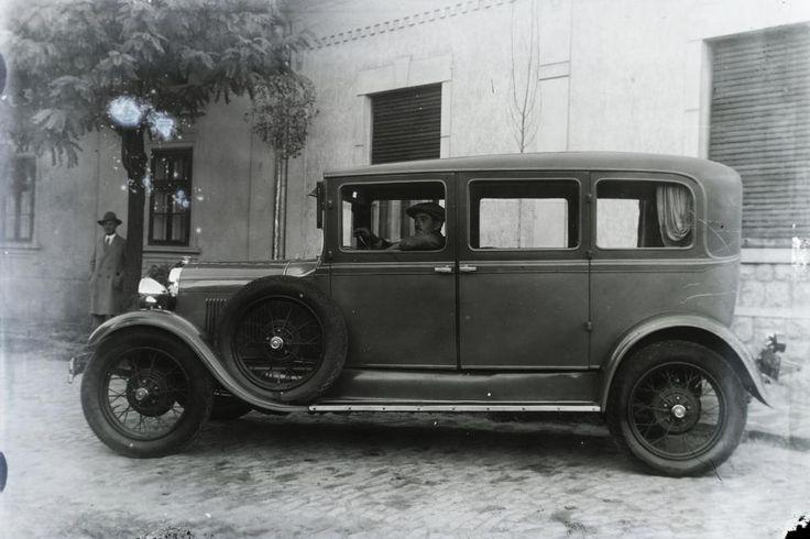 »Ford Model A automobil.« Leltári jelzet: 29952