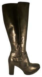 High leather boots for ladies, made in Italy by Nero Giardini
