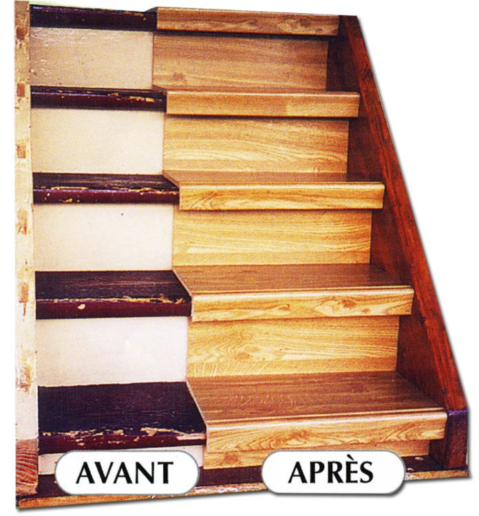 r novation escalier bois comment r nover son escalier comment et fils. Black Bedroom Furniture Sets. Home Design Ideas