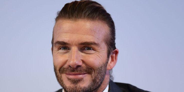 awesome David Beckham entre dans le monde du toilettage