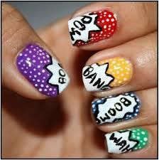 Make your teenage friends jealous with this top-notch nail design that's sure to make viewers go 'boom'.
