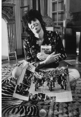 Dominique Tarle: Rolling Stones, Keith, Brown Sugar