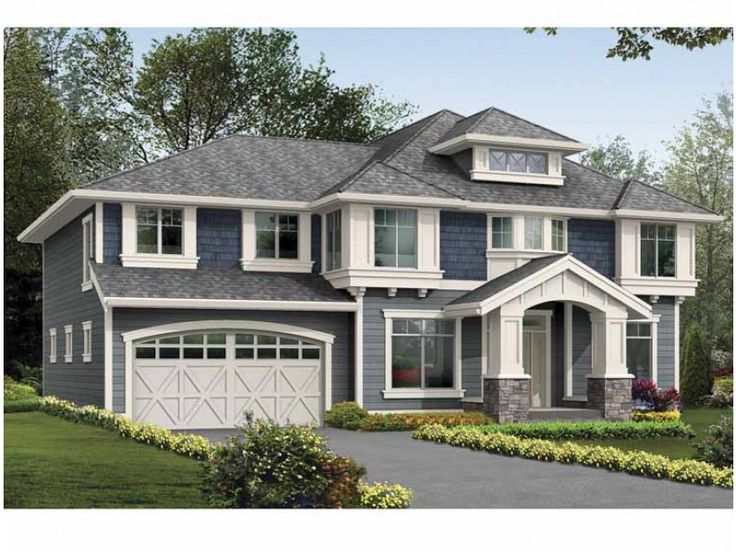 Eplans craftsman house plan walkout basement ready for for 5 bedroom house plans with basement