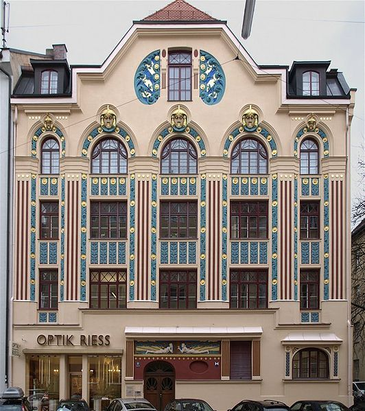 69 besten art nouveau architecture bilder auf pinterest for Architektur jugendstil