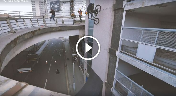 """Yes, this is a BMX video. But step back for a second and just look at what this guy is doing on these tiny wheels, and ask yourself: """"how is this possible?"""