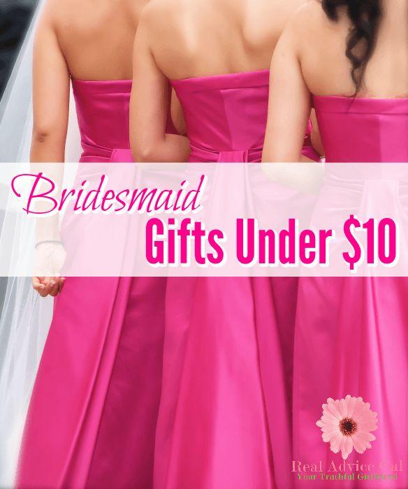 Cheap Bridesmaid Gifts Under 10