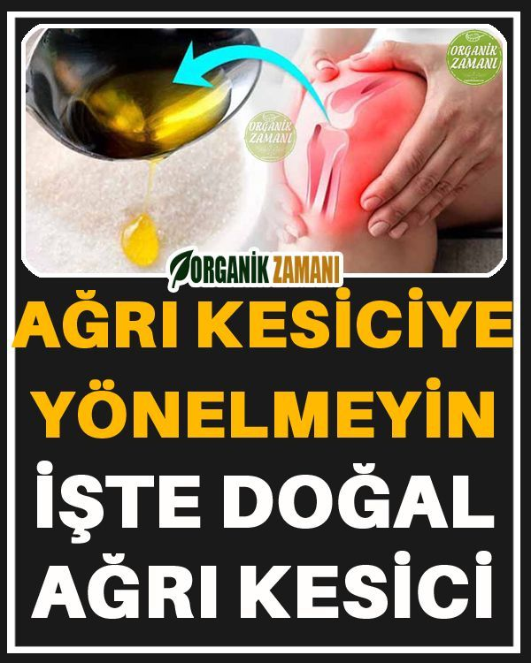 Agri Kesiciye Yonelmeyin Iste Dogal Agri Kesici 2020 Dogal