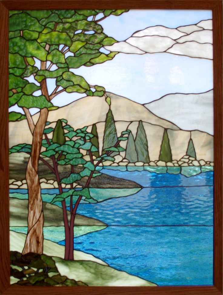 1000 Images About Stained Glass Scenery On Pinterest