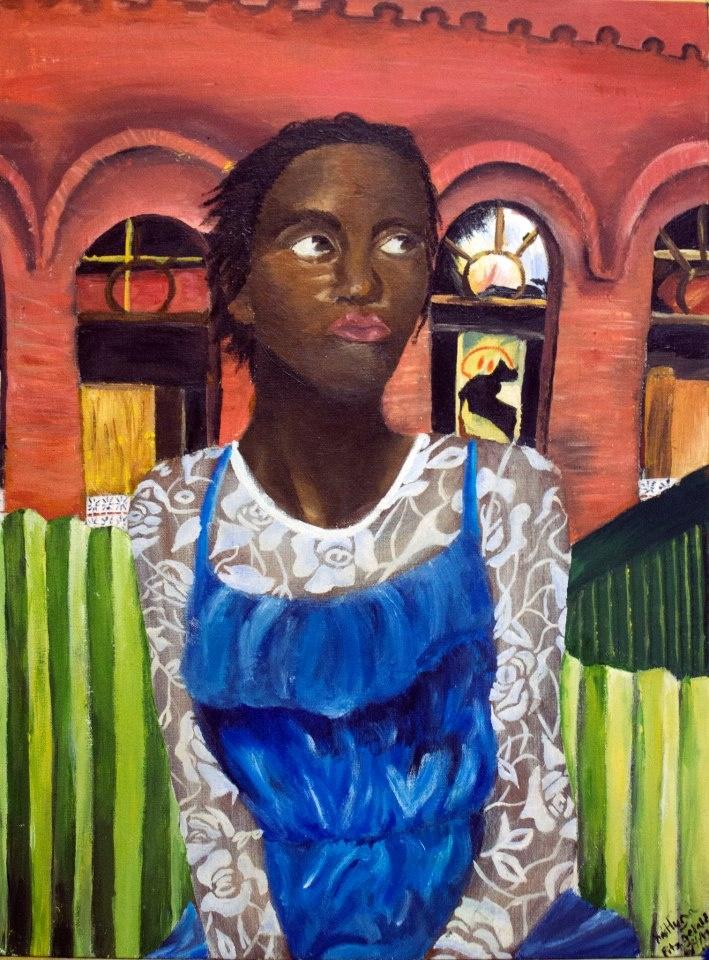 Portrait of Shahnee 2012(Acrylic paint)