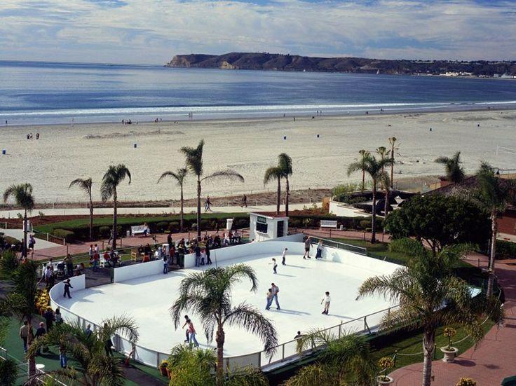 Ice Rink at Hotel del Coronado, San Diego