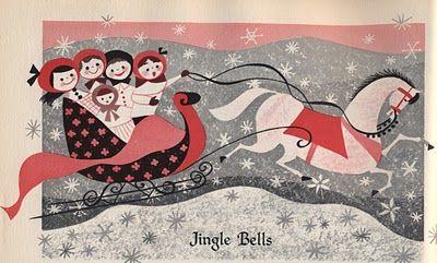 Mary Blair Christmas Jingle Bells