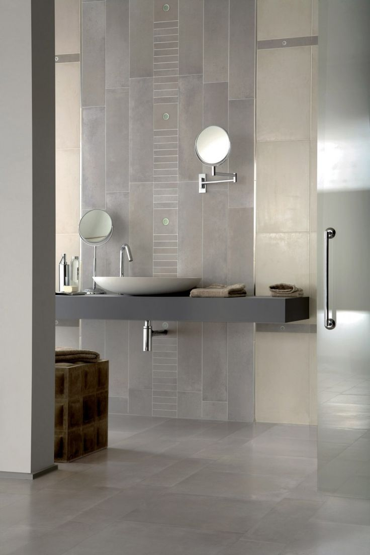 commercial bathroom tile ideas | broadway porcelain tile room picture