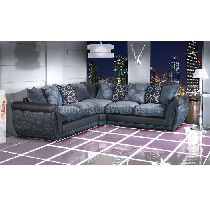 1000 Ideas About Grey Fabric Corner Sofa On Pinterest