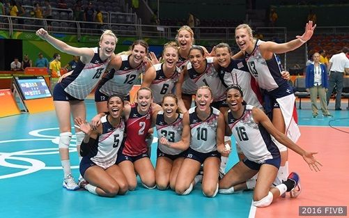 #Olympic newcomers lead @teamusa to sweep of Puerto Rico!  #volleyball #Rio2016…