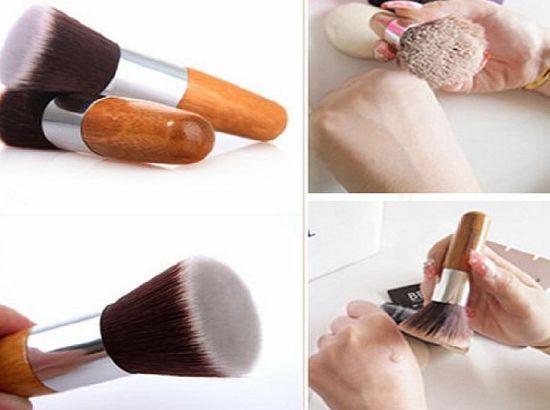 LyDia NEW Flat Top Buffer Bamboo Wooden Liquid Foundation/Powder/Bronzer Makeup Brush No description (Barcode EAN = 5055488297966). http://www.comparestoreprices.co.uk/beauty-products/lydia-new-flat-top-buffer-bamboo-wooden-liquid-foundation-powder-bronzer-makeup-brush.asp